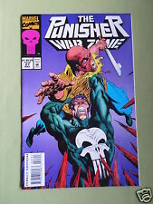 THE PUNISHER - WAR ZONE -  MARVEL COMIC - #27 - MAY 1994 -WITH CARDS INSIDE