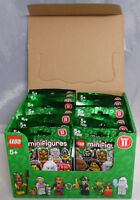 LEGO 71002 Minifiguren Serie 11, 1 kompletter Satz = 16 Figuren im Display NEU