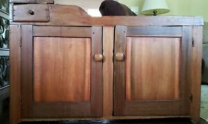 Antique Primitive Dry Sink with one drawer