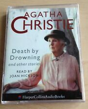 AUDIO BOOK: Agatha Christie - DEATH BY DROWNING on 2 x cass read by Joan Hickson