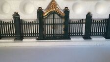 Department 56 Heritage Village Collection :Village Wrought Iron Gate And Fence""