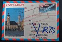 Aerogramme Airmail Austria Bougainville RTS Unopened Civil Unrest Stamp Rare