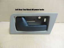 Ford Focus Interior Inside Door Handle Left Rear Driver 08 09 10 11 Tan Black