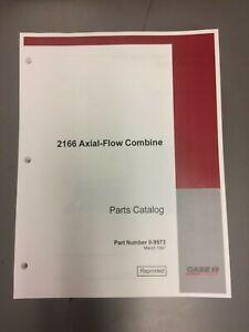 Case-IH 2166 combine parts catalog #8-9973