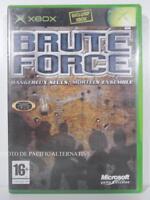 jeu BRUTE FORCE pour XBOX (first gen) en francais spiel juego gioco COMPLET
