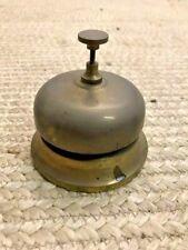 Customer Service Desk Brass Bell