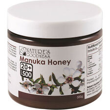 Nature's Goodness Active Manuka Honey UMF 20 Plus 500g Topical Applications