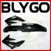 BLACK Plastics Guard Fairing Fender Kit CRF250 250cc Mx PIT Trail Dirt Bike
