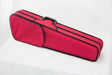 **GREAT GIFT** Light Weight Red 4/4 Violin Case/Backpack/Pocket CLEARANCE