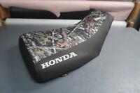 Honda Foreman TRX450S Logo Camo ATV Seat Cover #nw722mik721
