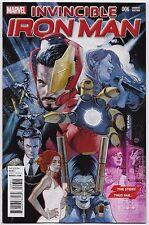 Invincible Iron Man #6 Marvel Comics 2016 Variant Julian Tedesco Cover 1:10