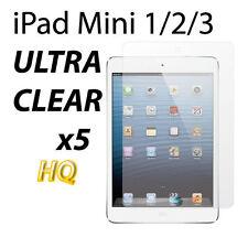5X ULTRA CLEAR LCD FILM SCREEN PROTECTOR For Apple iPad Mini 1 2 3 retina dispay