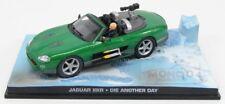 Jaguar Xkr Spider 2002 James Bond 007 Die Another Day Edicola 1:43 BONDCOL006