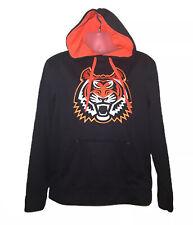 Black & Orange Hoodie Embroidered Tiger NWOT Size Medium tiger King Cool Cats