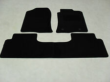 Toyota Prius (3 x Piece) 2005-2009 Fully Tailored Deluxe Car Mats in Black.