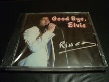 """CD NEUF """"GOOD BYE (GOODBYE) ELVIS"""" Ringo WILLY CAT / 15 titres"""