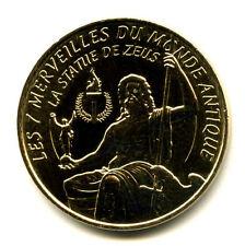 13 AUBAGNE Les 7 merveilles du monde, Statue de Zeus, 2014, Monnaie de Paris