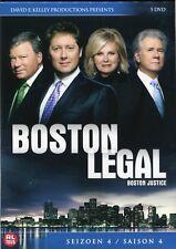 Boston Legal, Boston Justice : Seizoen 4 / Saison 4 / Season 4 (5 DVD)