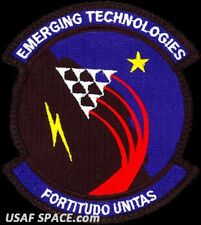 USAF 412th OPERATIONS GROUP -EMERGING TECHNOLOGIES- Edwards AFB - ORIGINAL PATCH