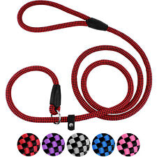 Heavy Duty Dog Leash Rope Slip Lead Strong Training Pet Leads for Dogs Puppy