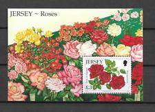 2010 MNH Jersey roses block