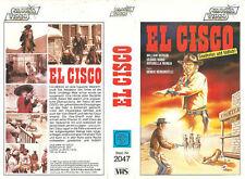 (VHS) El Cisco - William Berger, George Wang, Antonella Murgia (1966)