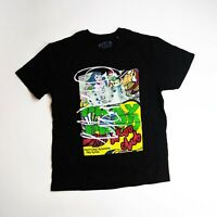 AKOO MENS S/S  T-Shirt Mens Size LARGE 100% AUTHENTIC black
