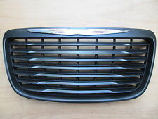 CHRYSLER 300 300C MATT BLACK GRILLE 2011-2014 MODIFIED EMBLEM TRIM CH1200351