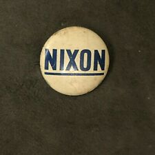 NIXON LAPEL PIN BADGE