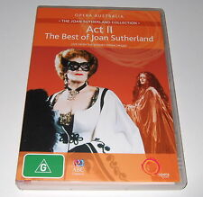 DVD - ACT II: THE BEST OF JOAN SUTHERLAND - Live From The Sydney Opera House