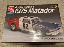 Bobby Allison's 1975 Matador New Factory Sealed AMT ERTL 1/25 Model Kit