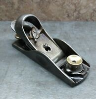 Vtg. Craftsman No. 3704 Block Plane By Sargent USA - woodworking hand tool