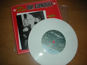 """Oh!  Gunquit - High on Xmas/Don't Believe in Christmas - 7"""" Coloured Vinyl"""
