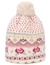 Cappelli e berretti rose in misto lana per bimbi