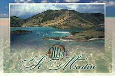 Ile Pinel Islet St. Martin Sint Maarten French West Indies Caribbean - Postcard