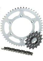 KAWASAKI KDX200 CHAIN AND SPROCKET KIT WITH 13T / 48T STEEL CHEAP 1989 - 2008