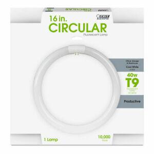 Feit Electric FC16T10/CW 40W 4100K 2950 Lumens G10Q Circular Fluorescent Bulb