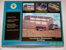 Bachmann N Scale Locomotive Maintenance Building Kit #15163-Assembly Required