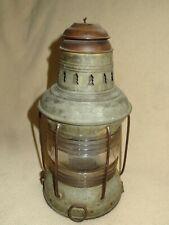 New listing Nautical Marine Kerosene Lamp Lantern Round Clear Globe