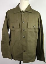 WWII US DARK SHADE TYPE II HBT COMBAT FIELD JACKET-2XLARGE