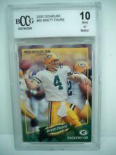 2000 Donruss BRETT FARVE Graded BCCG 10 Mint or Better Packers #4 NFL Football