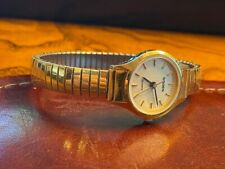 Women's 20mm Gold Tone Gruen Watch with Expansion Band