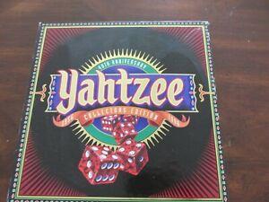 40th Anniversary Yahtzee Collectors Edition Milton Bradley Dice Game 1996