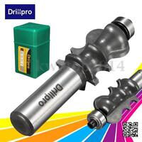 """Drillpro 1/2"""" Shank Architectural Molding Router Bit Woodworking Chisel Cutter"""