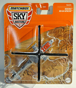 MATCHBOX SKYBUSTERS - BOEING AH-64 APACHE HELICOPTER - CASE S