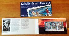 Greenland Christmas Stamp Booklet #02 1997 Sledge Dog Santa CTO Frimerker Forum