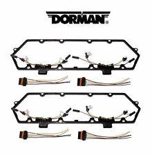 For Ford F-250 Econoline Super Duty Set of 2 Diesel Valve Cover Gasket Dorman