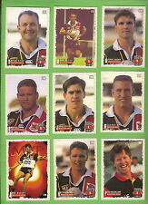 1995 SERIES 1 PERTH WESTERN REDS  RUGBY LEAGUE CARDS