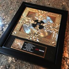 Jay Z Kanye West Watch The Throne Record Music Award Disc Album LP Vinyl