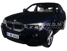 BMW X4 (F26) IMPERIAL BLUE 1/18 DIECAST CAR MODEL BY PARAGON 97092